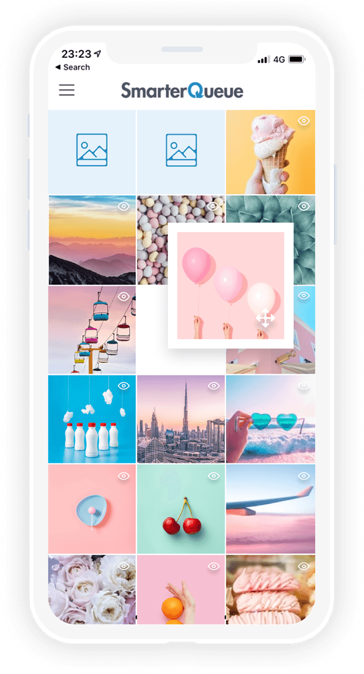 Instagram Scheduler - Re-arrange your feed
