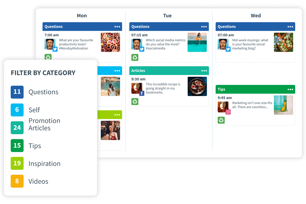 Say goodbye to manual social media scheduling