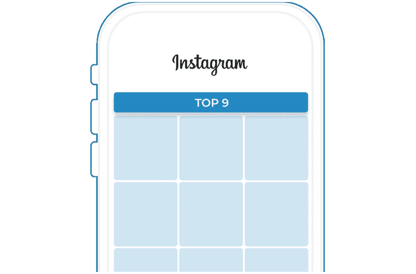 Discover and share your top nine Instagram posts for free today