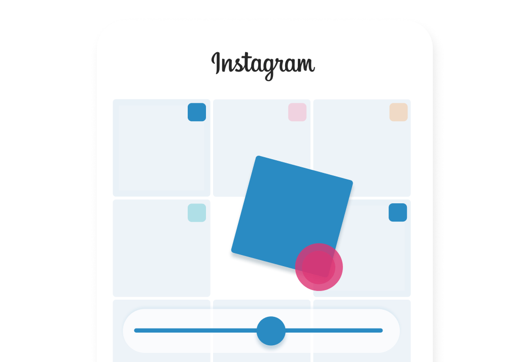 Powerful social media management, visually plan, preview and rearrange your instagram feed.