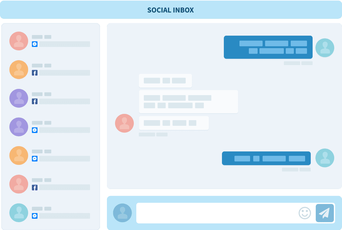 New feature! Read and respond to all your social mentions and messages in one place