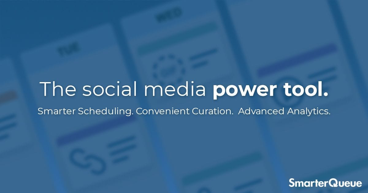SmarterQueue The Powerful All-In-One Social Media Scheduling Tool